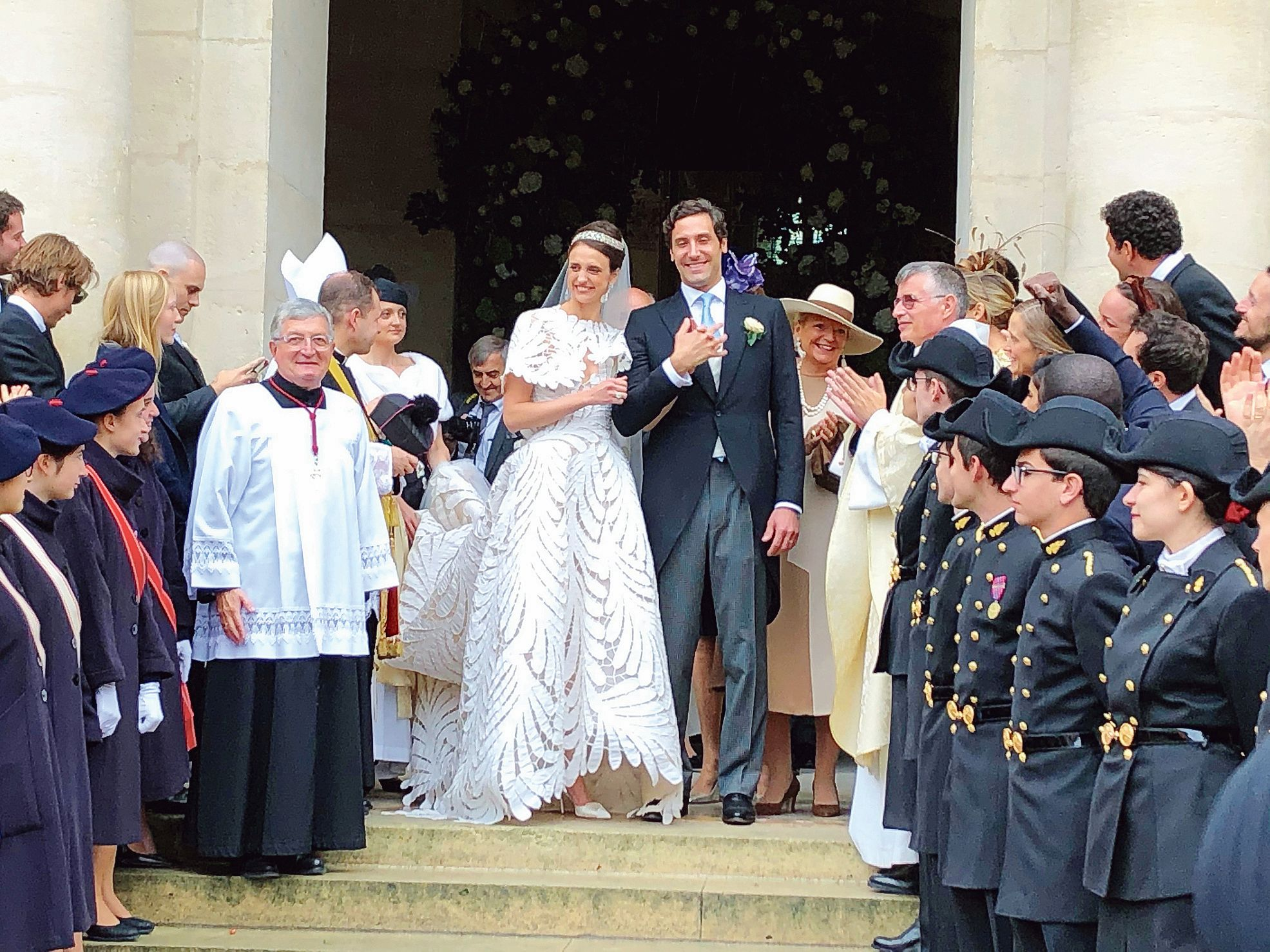 Aux Invalides, un mariage princier entre les Bonaparte et