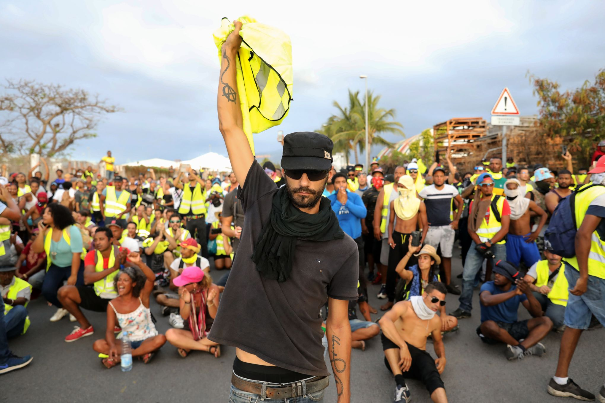 À La Réunion, «la poudrière peut s'enflammer à tout moment»