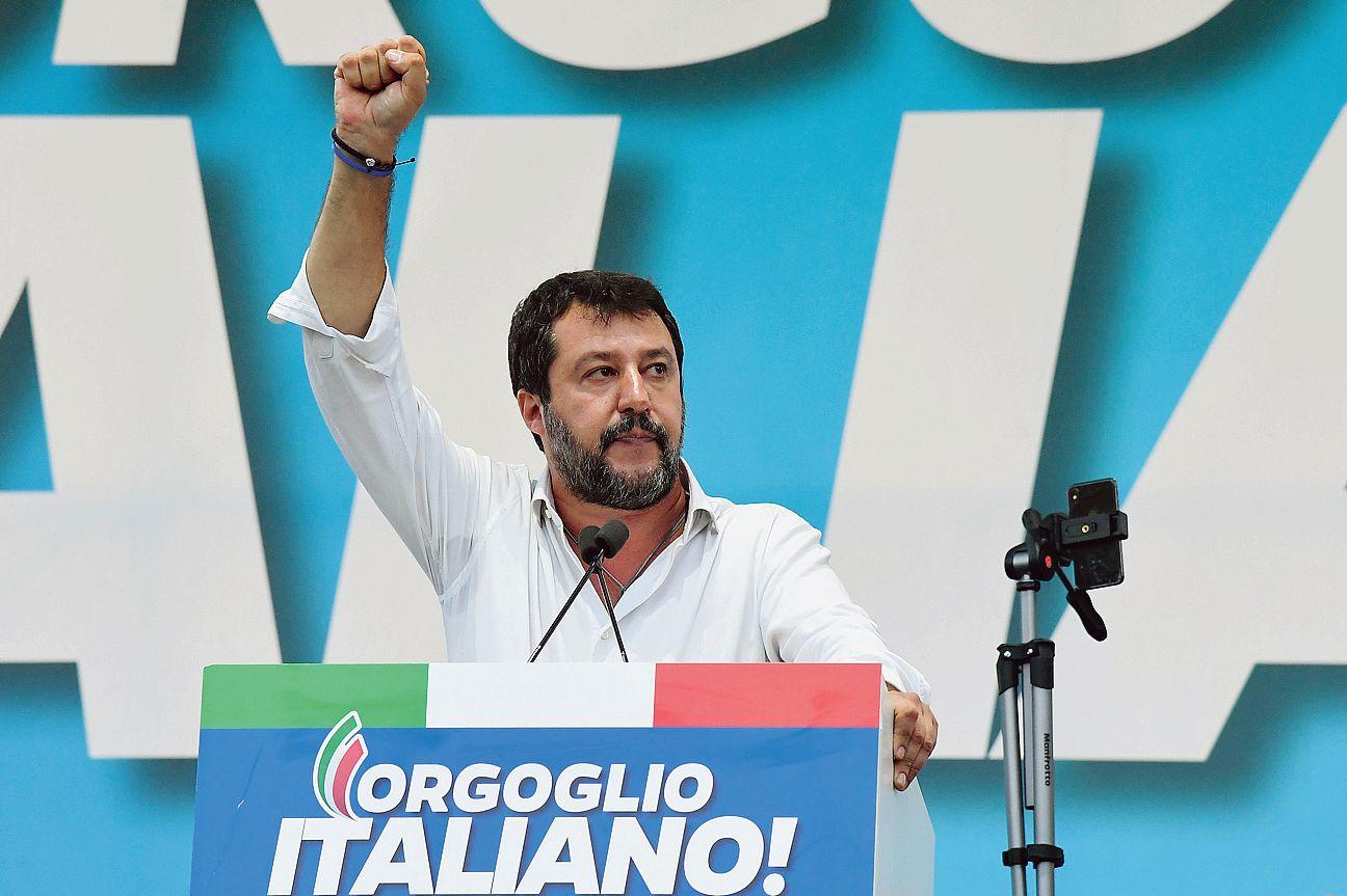 Italie: l'éclipse de Matteo Salvini n'aura pas duré