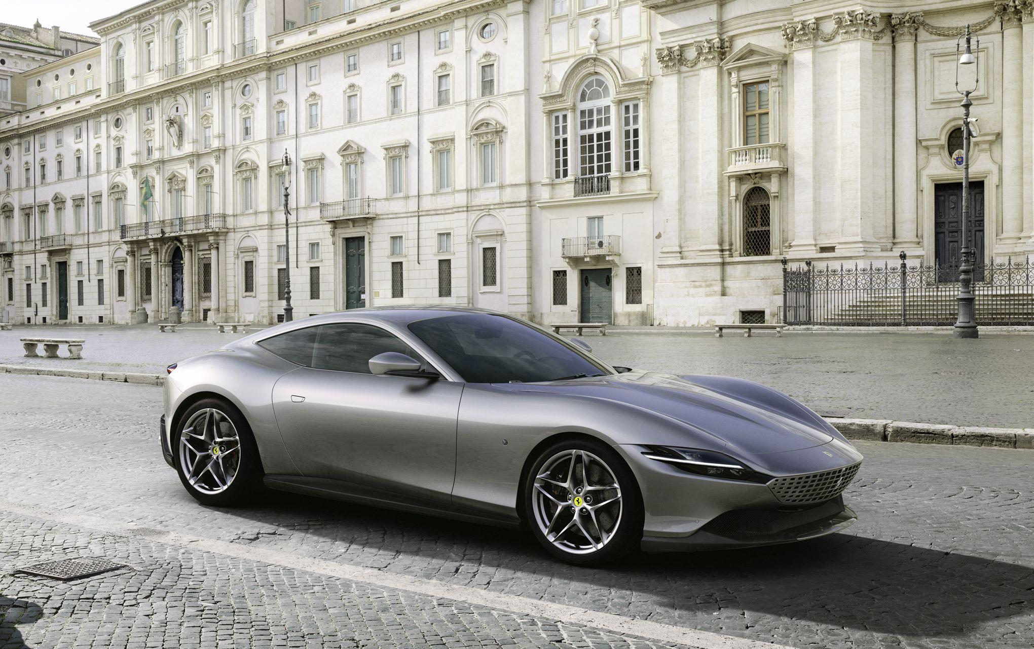Ferrari Roma, l'élégance faite GT