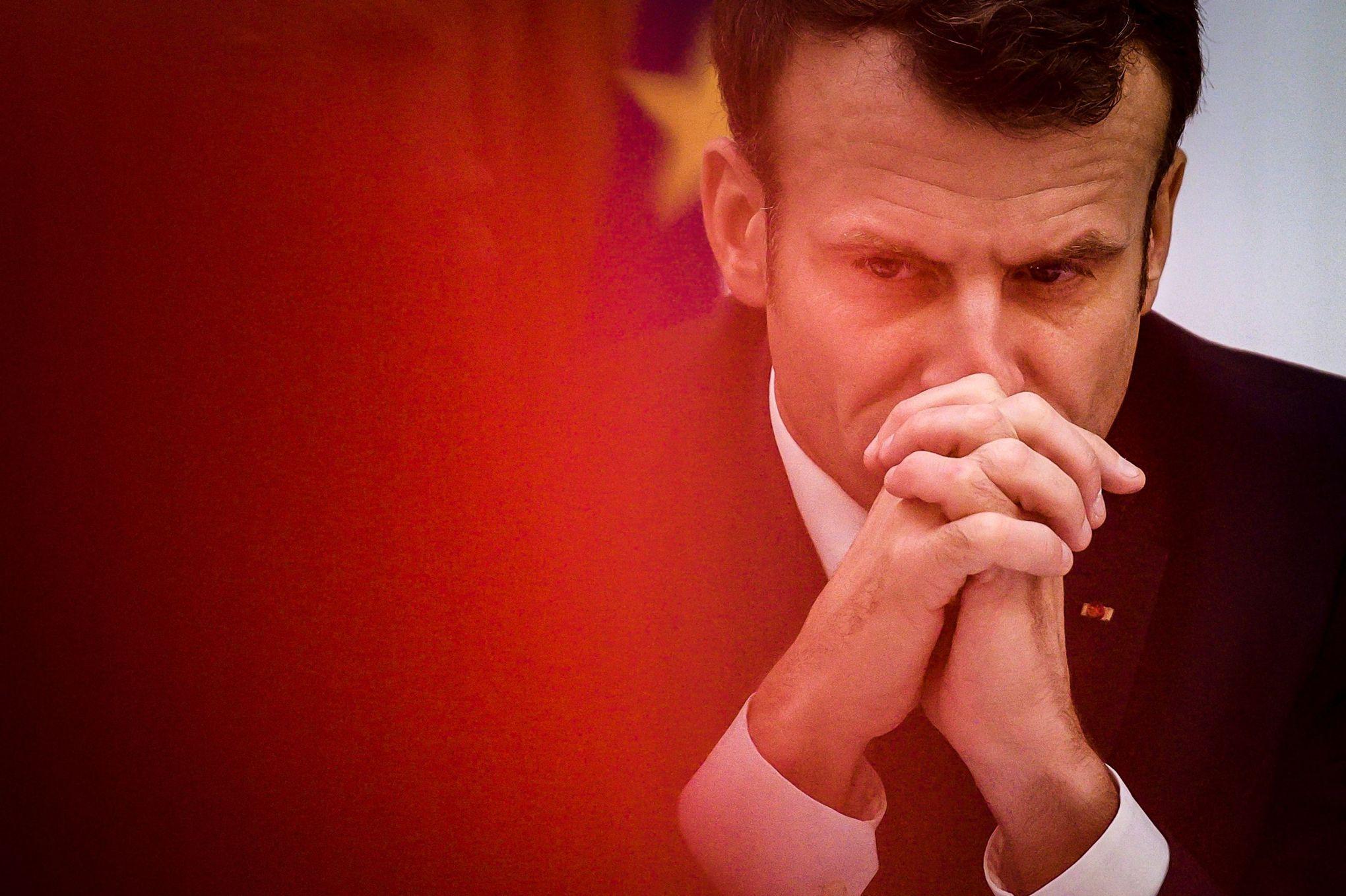 Nicolas Baverez: «Macron, faux dur dehors, vrai mou dedans»