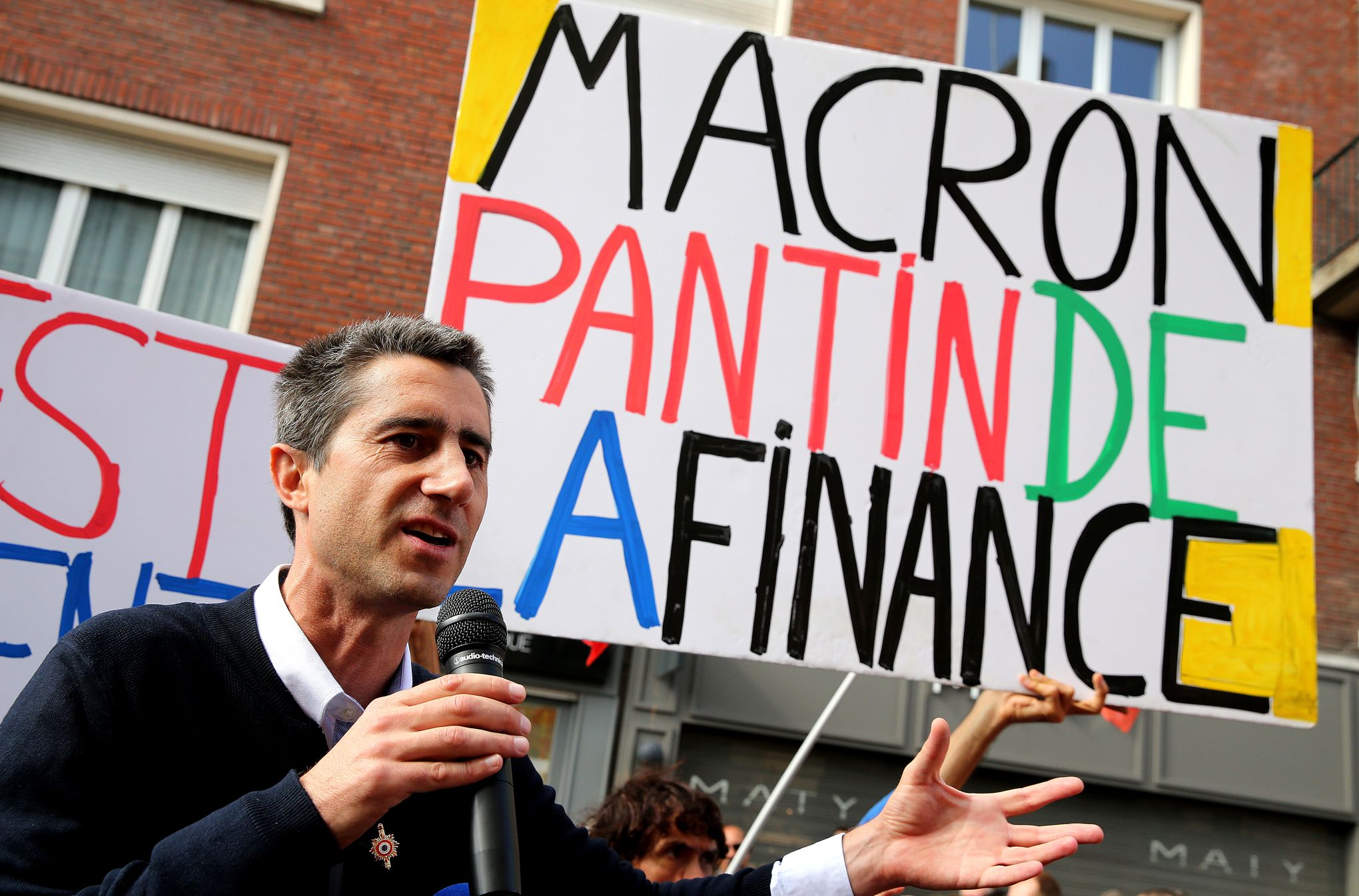 François Ruffin appelle à venir manifester contre Emmanuel Macron à Amiens