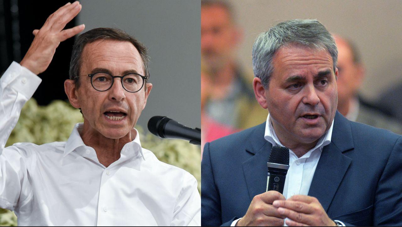 Listes communautaires: Retailleau et Bertrand vent debout contre Macron