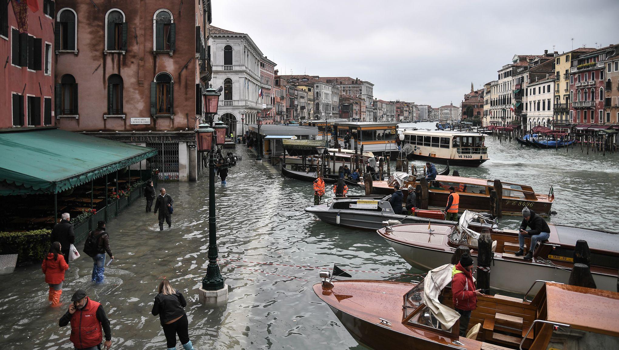 «Acqua alta» à Venise: une partition de la main de Vivaldi sauvée des eaux de justesse
