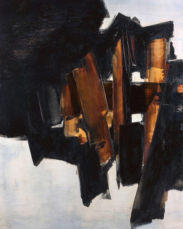 Prix D Un Tableau D Artiste une toile de soulages vendue au prix record de 9,6 millions