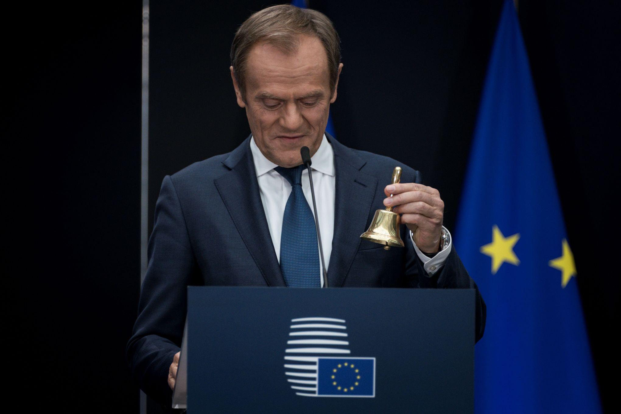 Europe: Donald Tusk règle ses comptes avec Macron