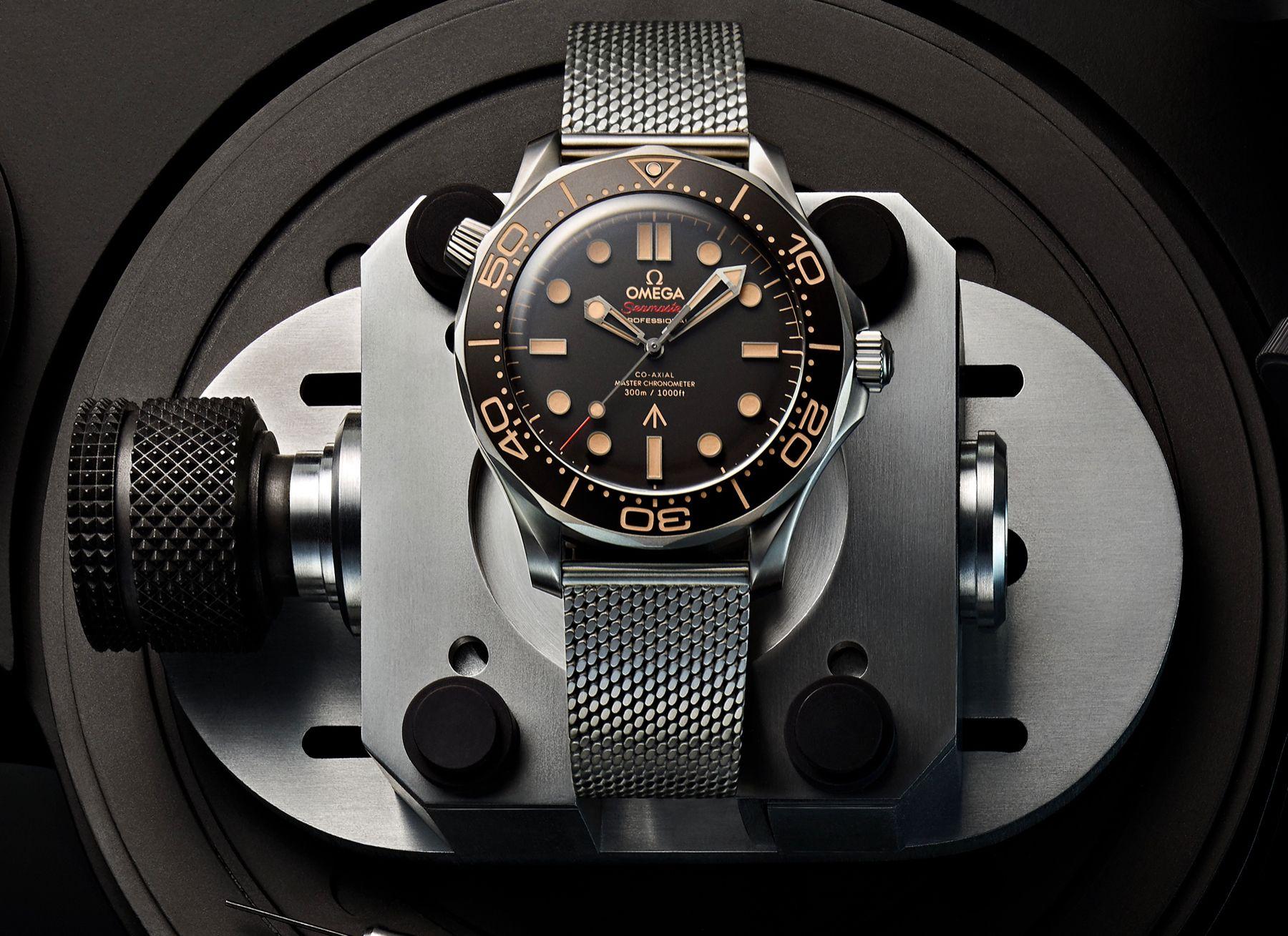 «Mourir peut attendre»: une nouvelle montre pour James Bond 007