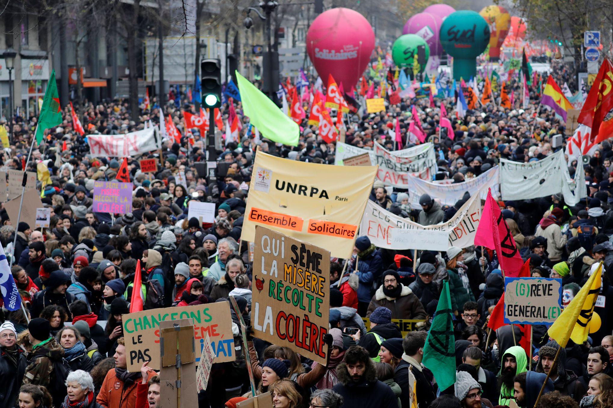 «Le 5 décembre a amorcé l'implosion sociale de la France»