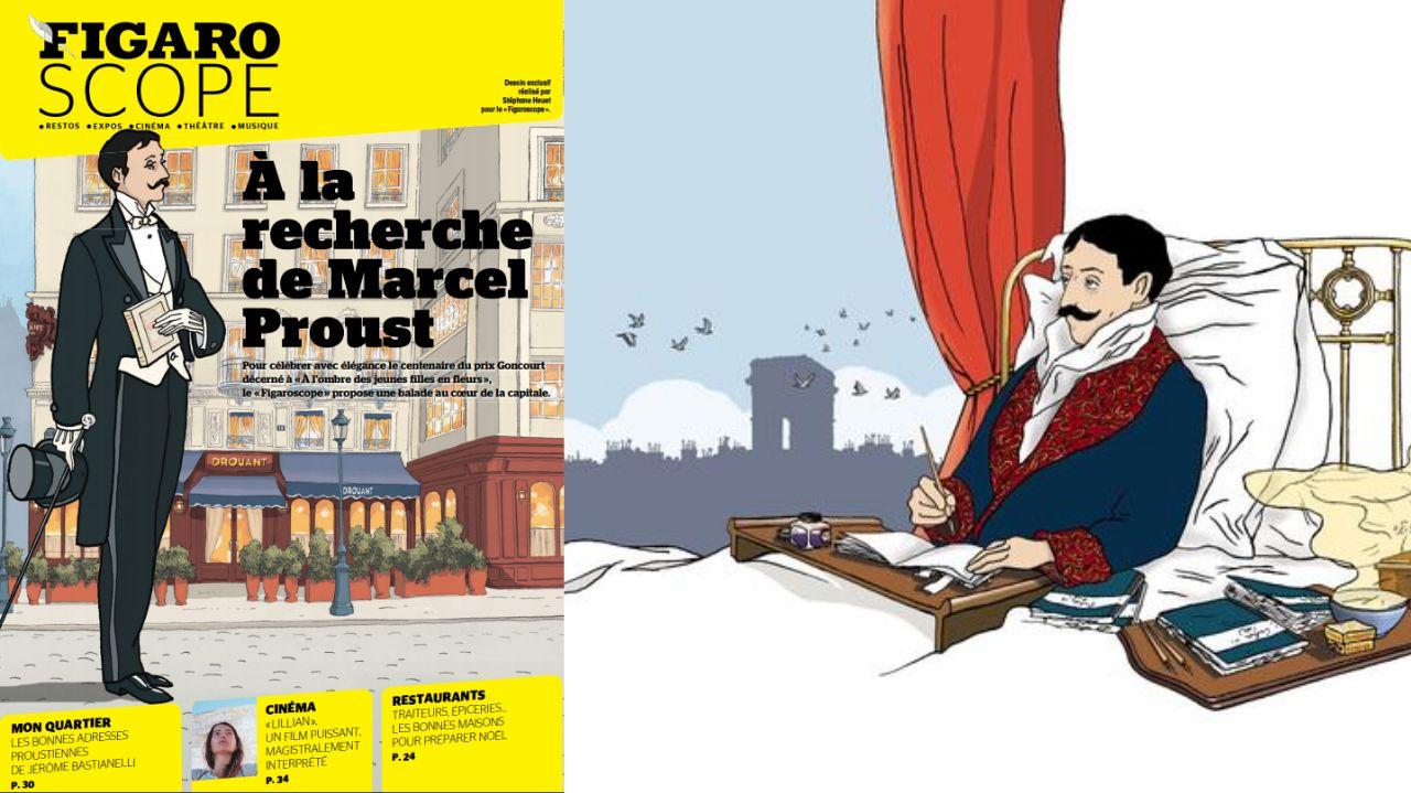 Paris à l'ombre de Marcel Proust pour le centenaire de son prix Goncourt