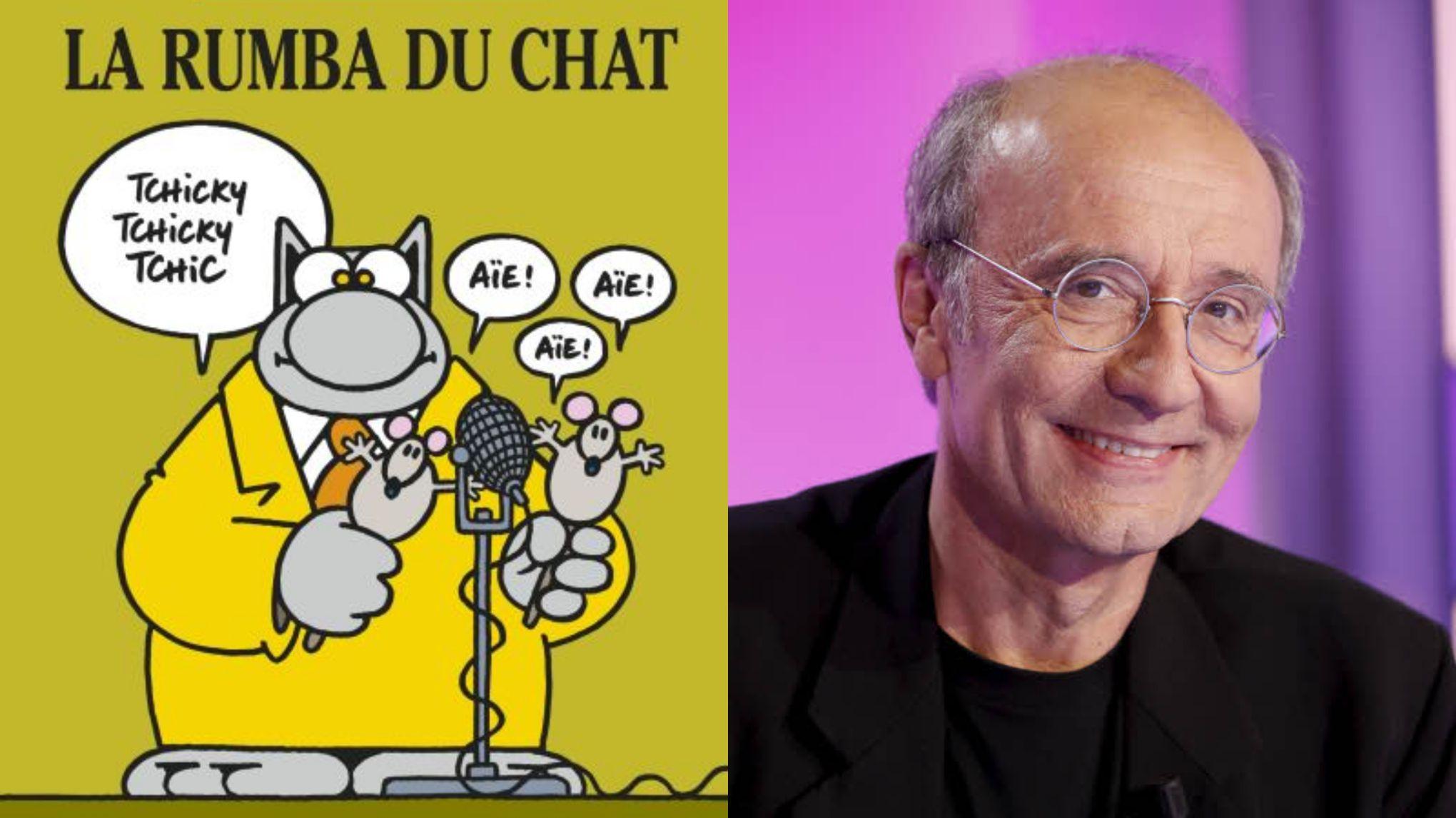 Philippe Geluck: «L'affaire de la banane mangée de Cattelan aurait pu être un gag du Chat»