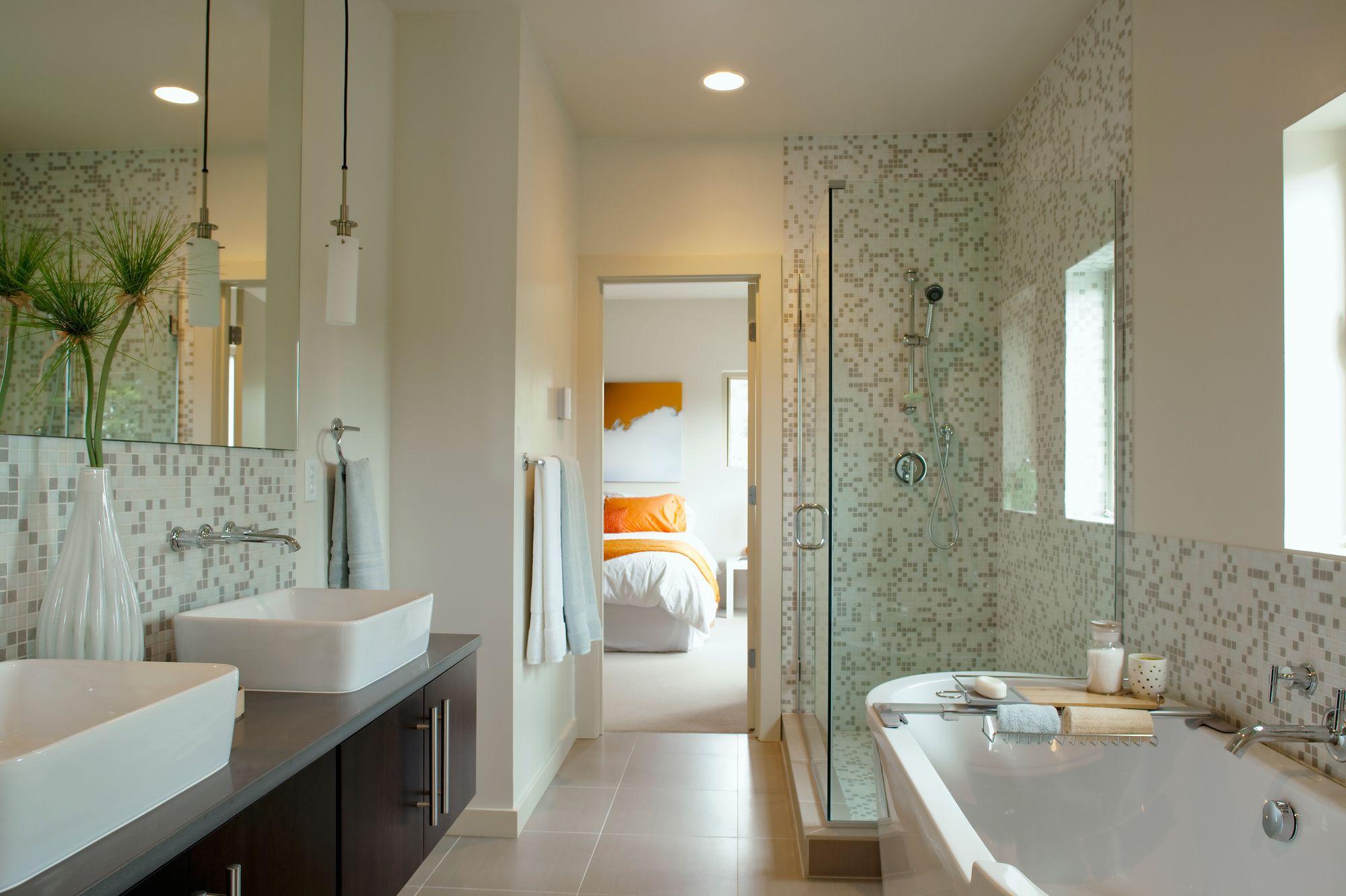 Suite parentale: comment aménager une salle de bains dans sa ...