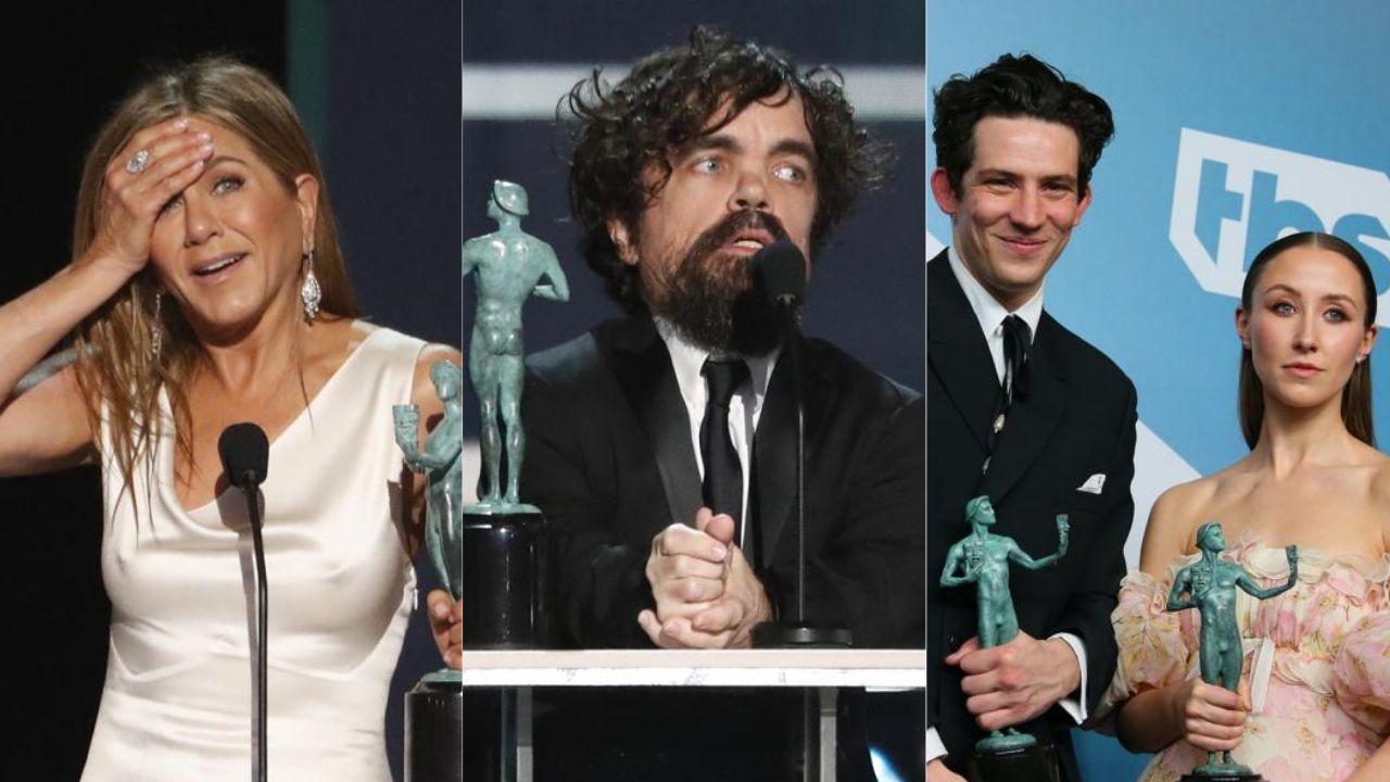Game of Thrones, The Crown et Apple célébrés par les SAG Awards
