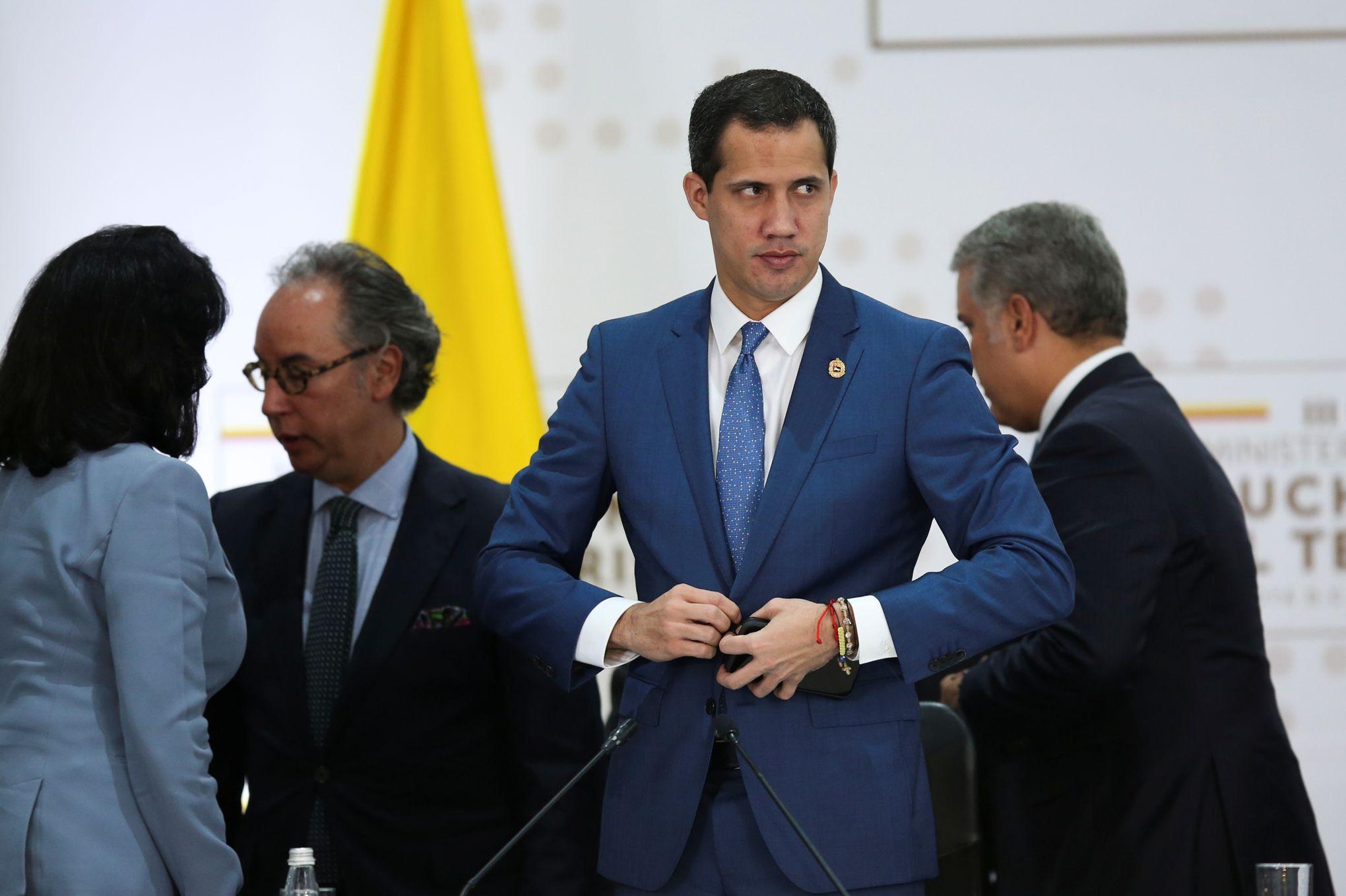 Juan Guaido, un «président intérimaire» pour représenter le Venezuela à Davos