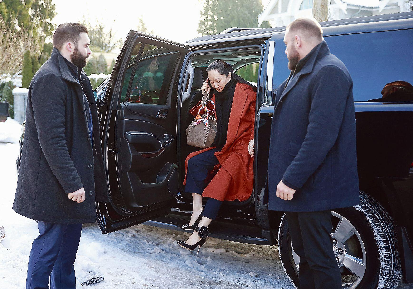 L'audition de la fille du fondateur de Huawei embarrasse le Canada