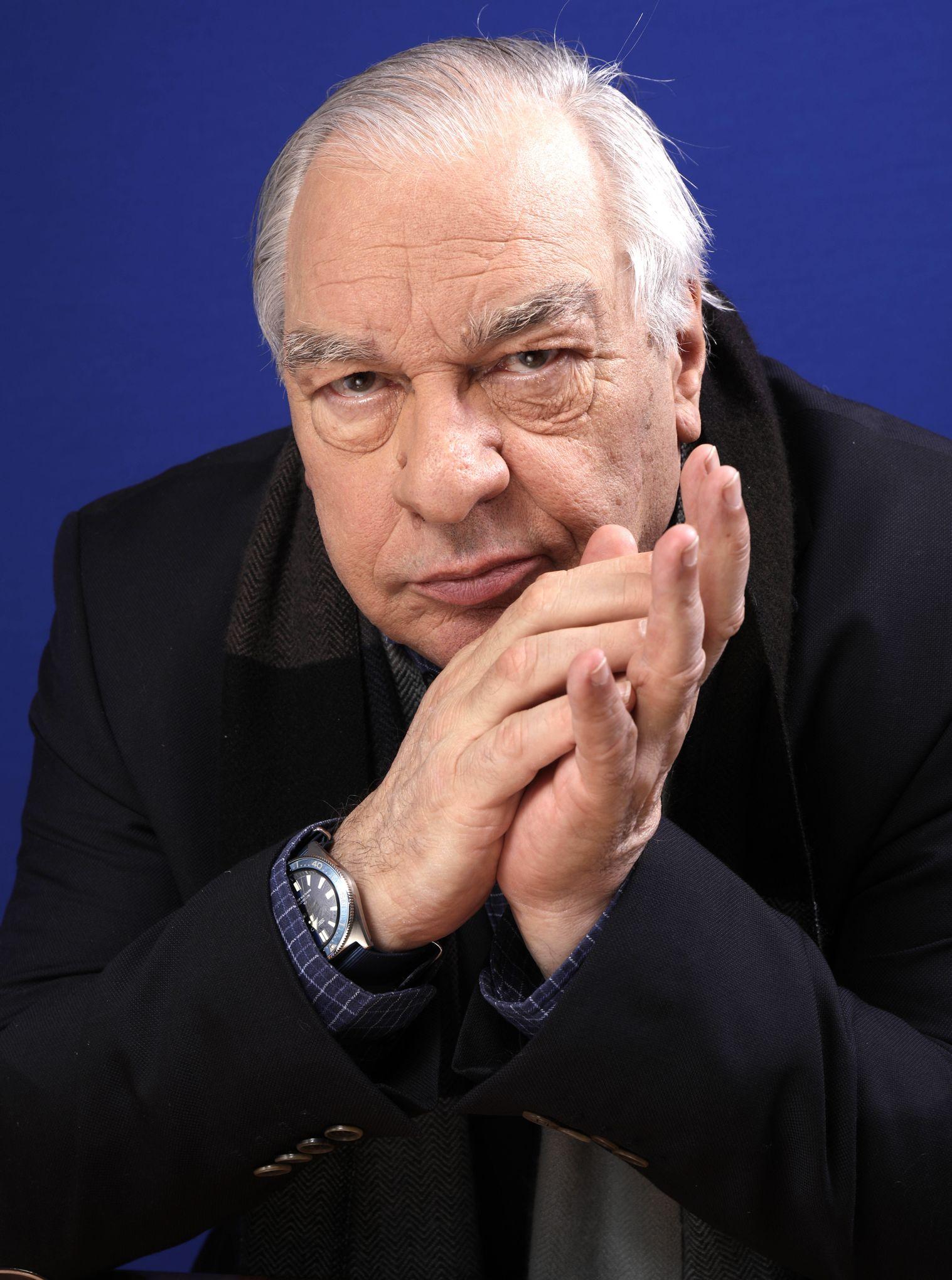 Didier Decoin, élu président de l'académie Goncourt