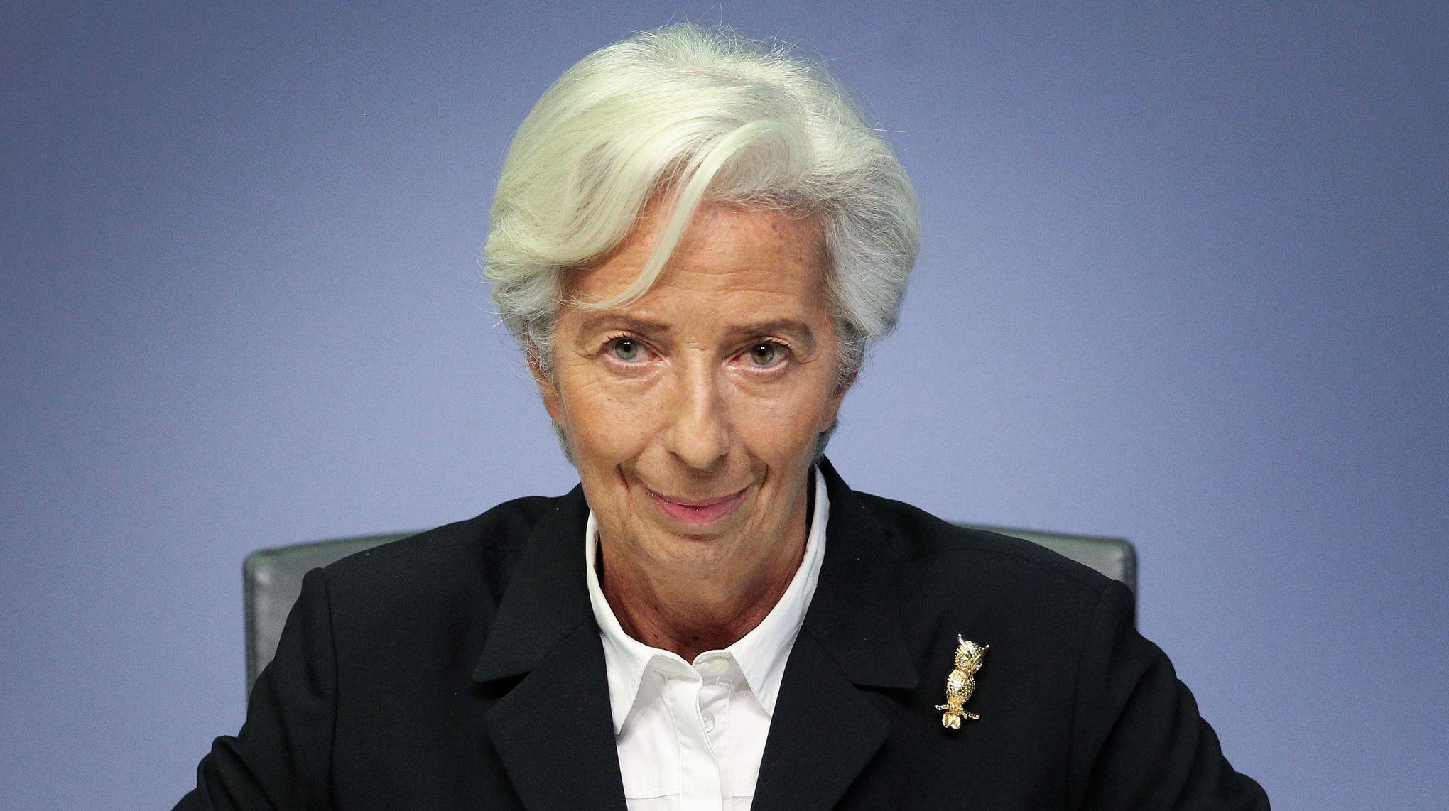 Christine Lagarde entend agir sur le climat à la BCE