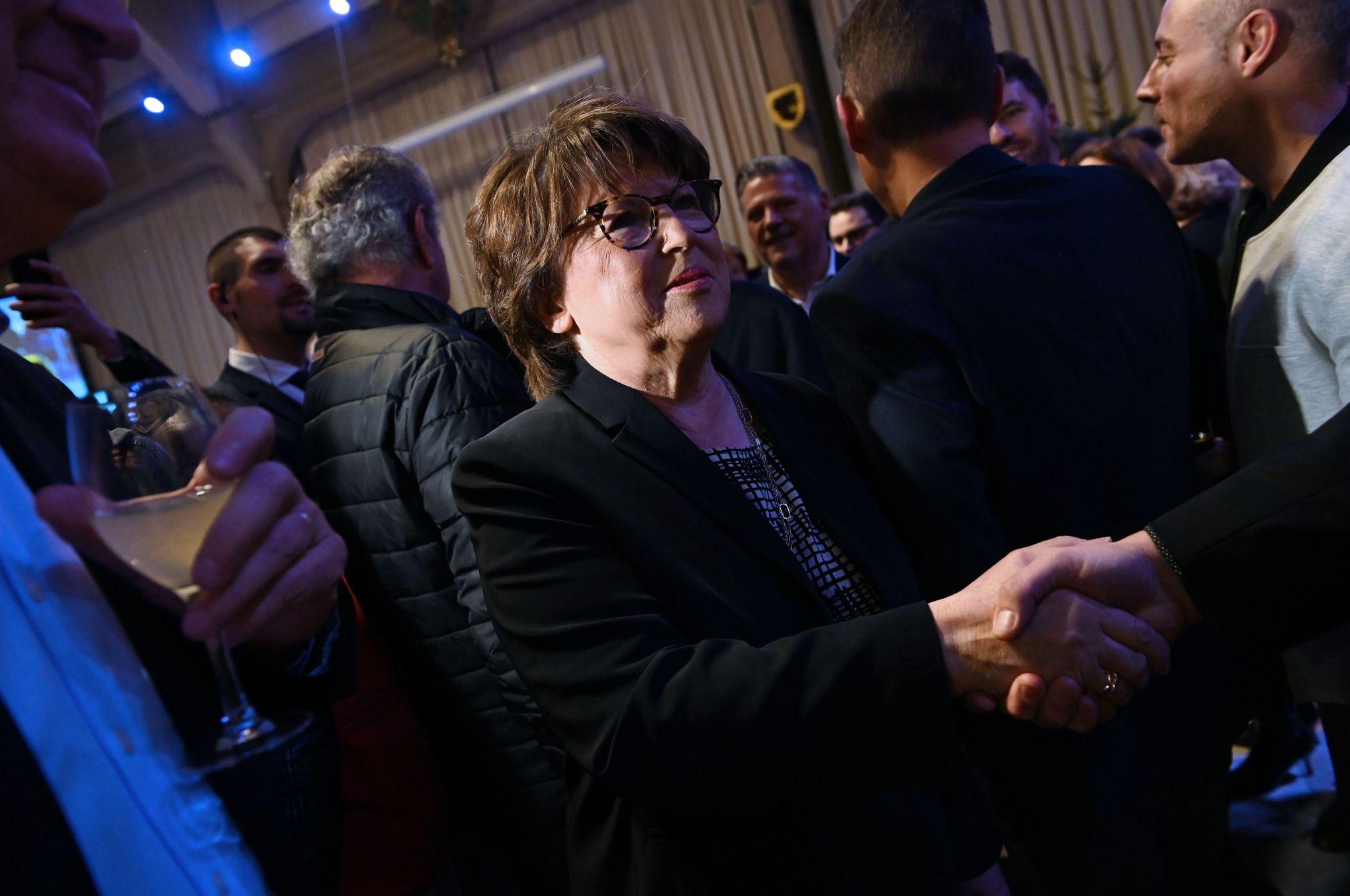 Municipales: Martine Aubry chahutée mais favorite pour un 4e mandat à Lille