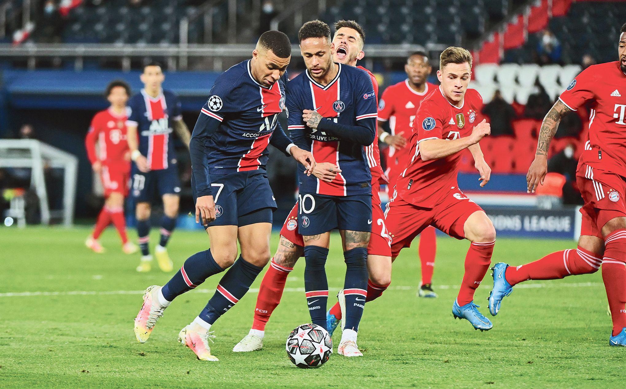 Mbappé et Neymar, deux vraies belles gueules de Ballon d'or