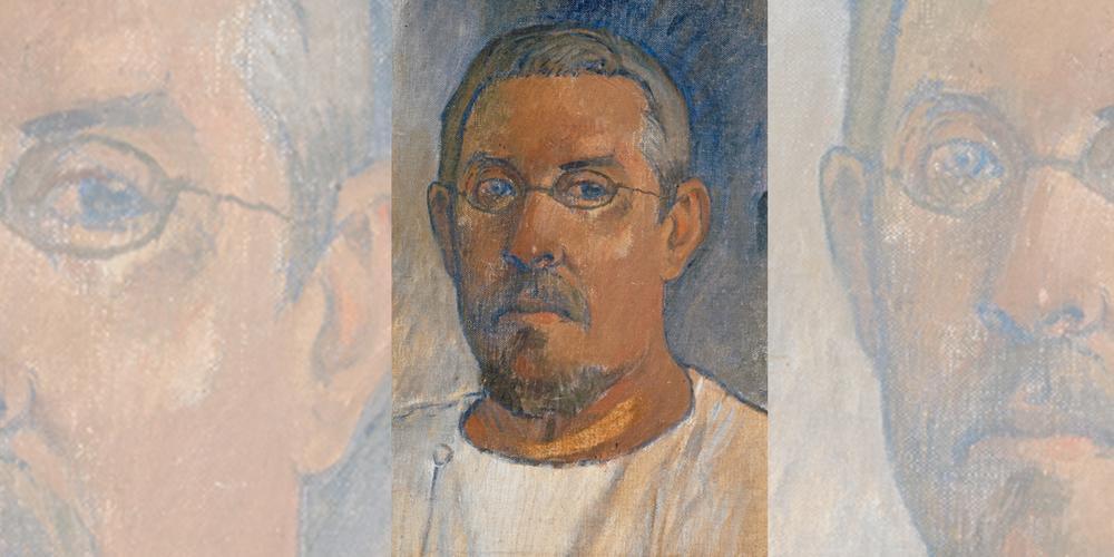 Autoportrait de Gauguin, 1903 (Bâle, Kunstamuseum)