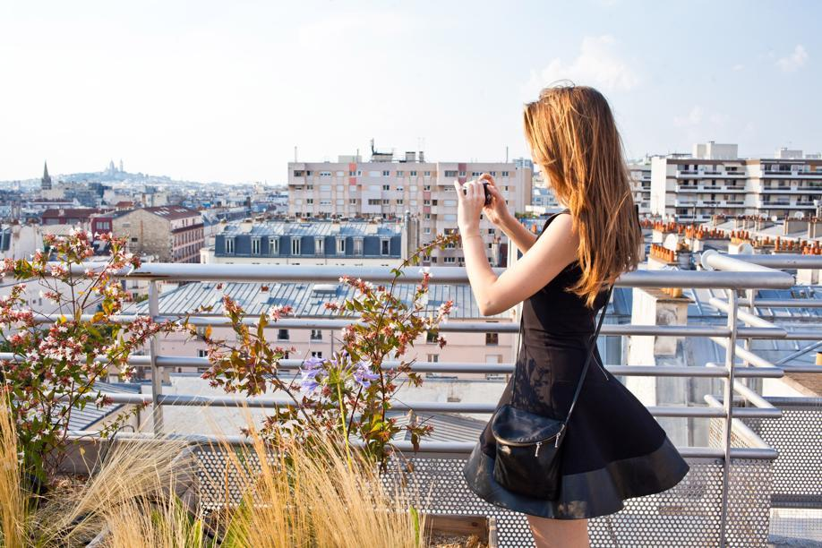 Le rooftop du Perchoir à Paris XIe