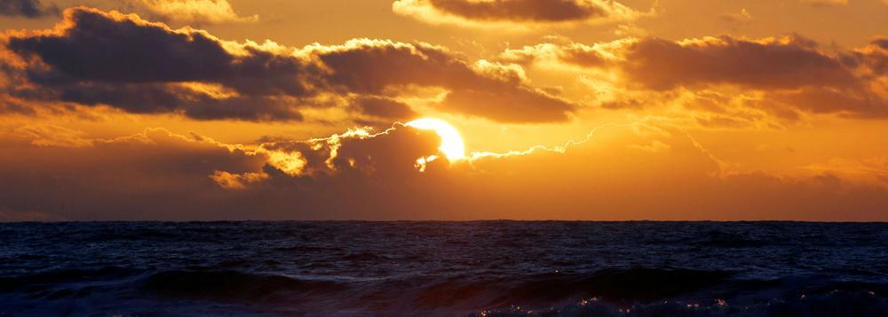 L'océan Atlantique, l'une des ressources économiques de la France.