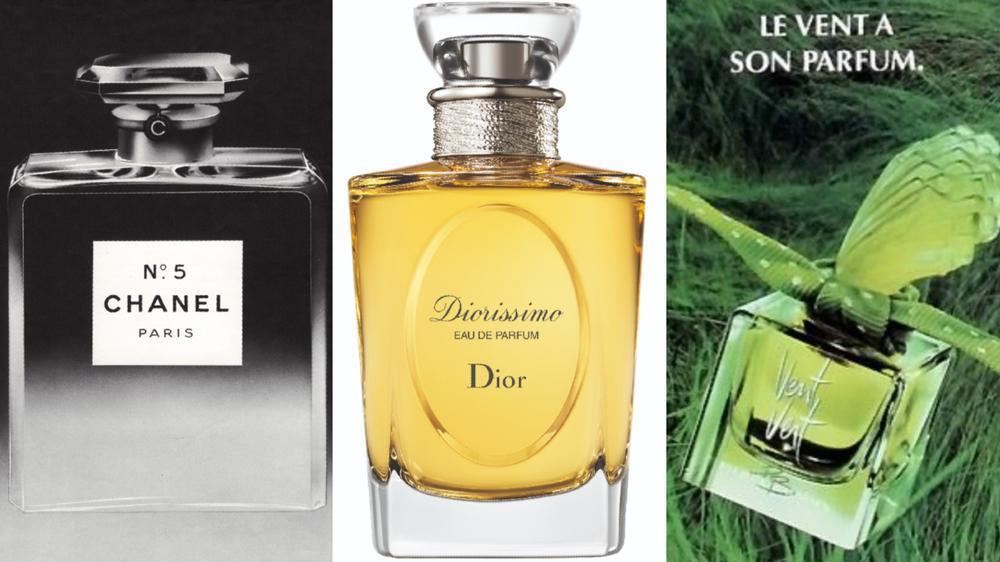 Trois best-sellers de l'industrie du parfum