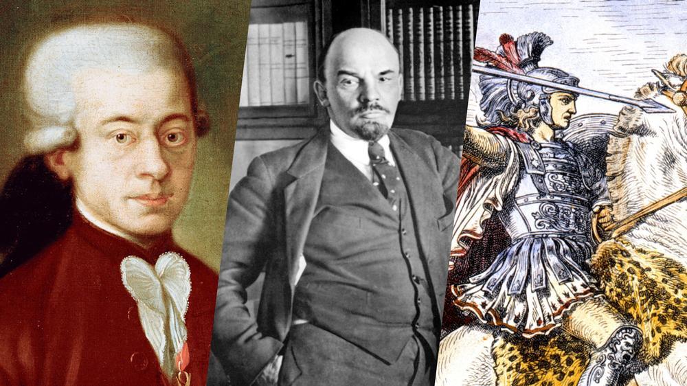 Mozart, Lénine, Alexandre le Grand... De quoi sont-ils vraiment morts ?
