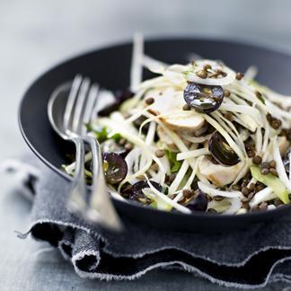 recette salade aux asperges vertes et radis noir cuisine madame figaro. Black Bedroom Furniture Sets. Home Design Ideas
