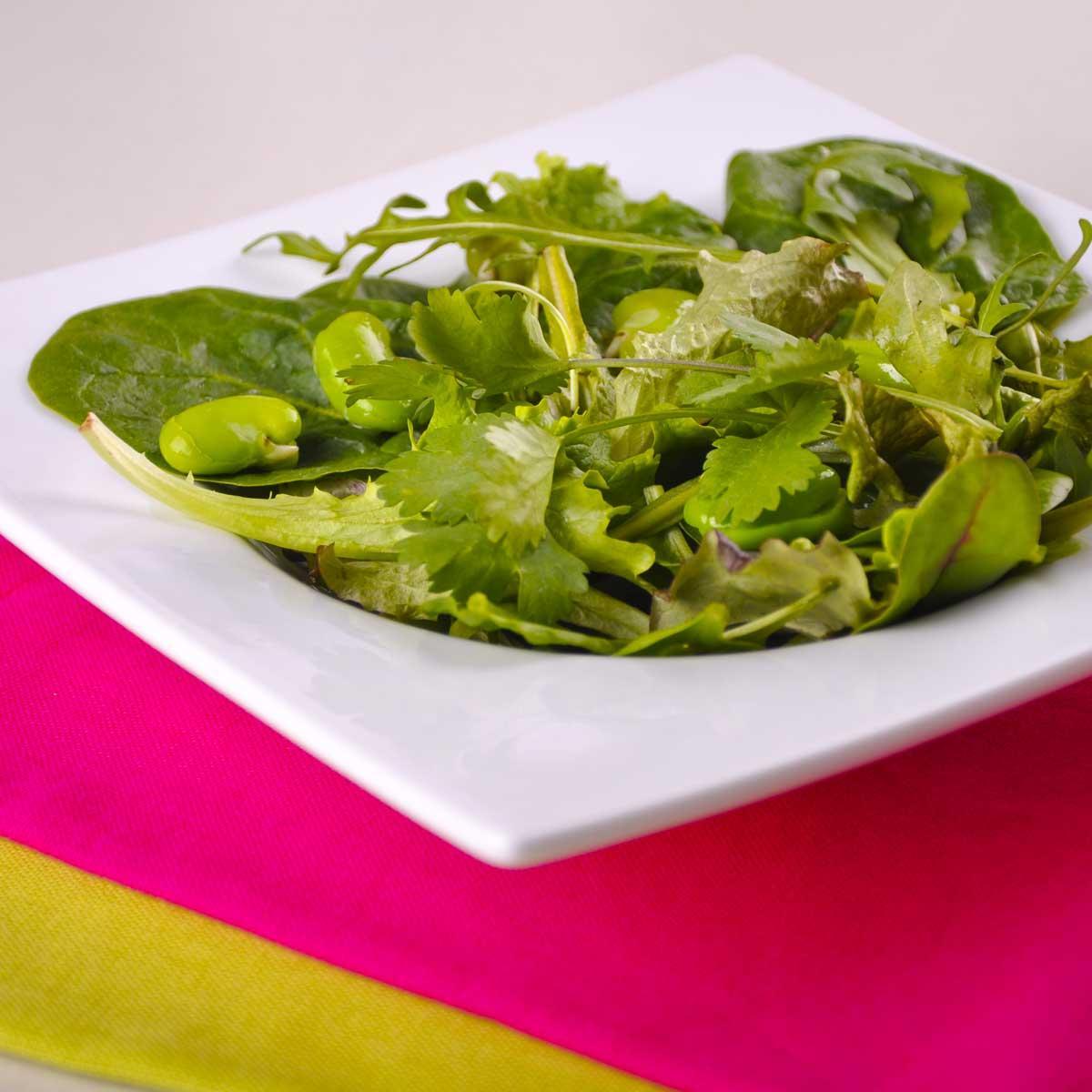 Recette Feves Fraiches En Salade Cuisine Madame Figaro