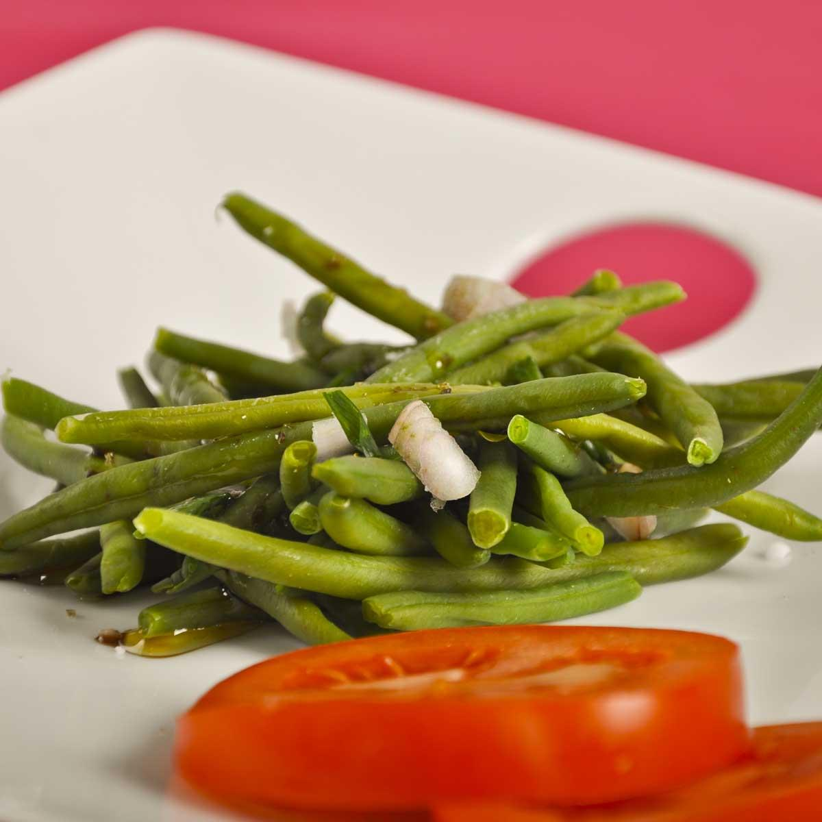recette salade de haricots verts cuisine madame figaro. Black Bedroom Furniture Sets. Home Design Ideas
