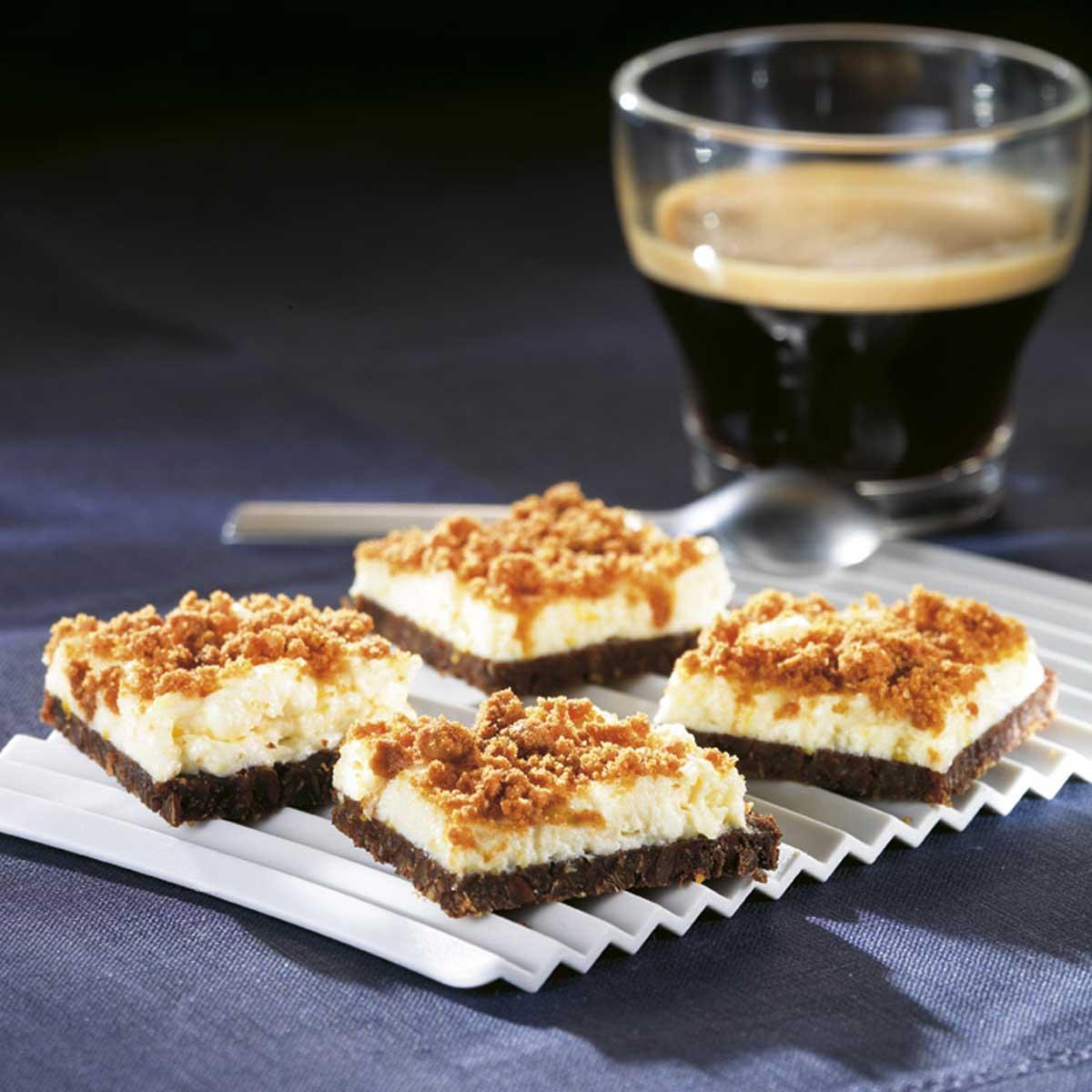 recette tartine cheesecake de cyril lignac cuisine. Black Bedroom Furniture Sets. Home Design Ideas