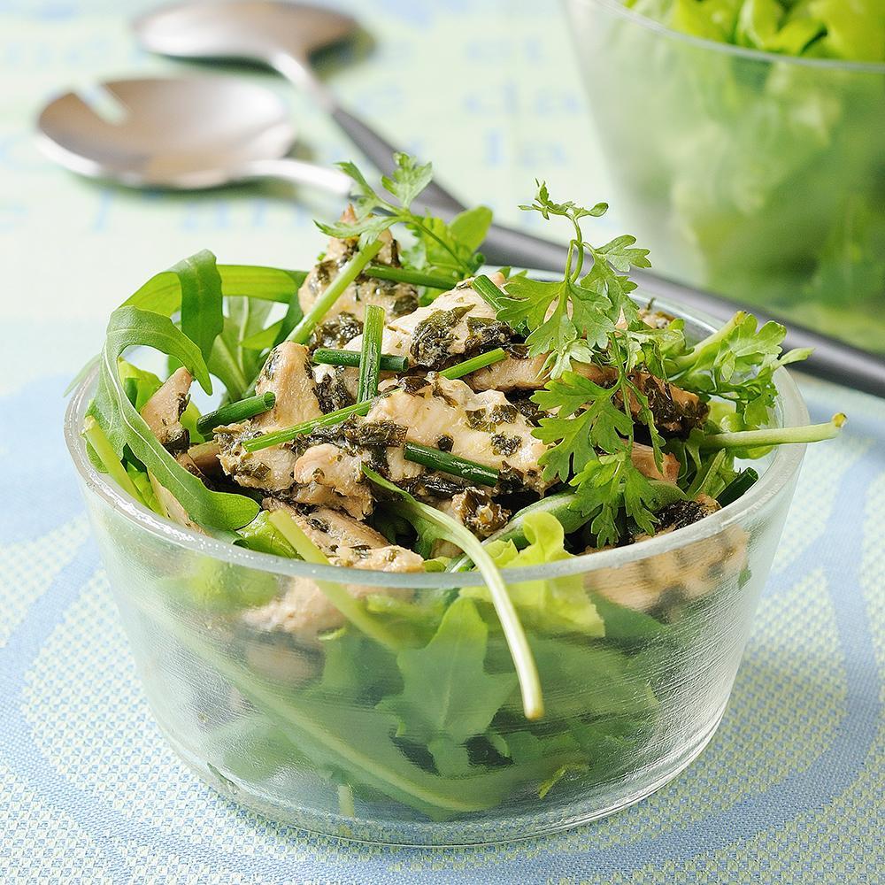 Recette Salade De Roquette Au Blanc De Poulet