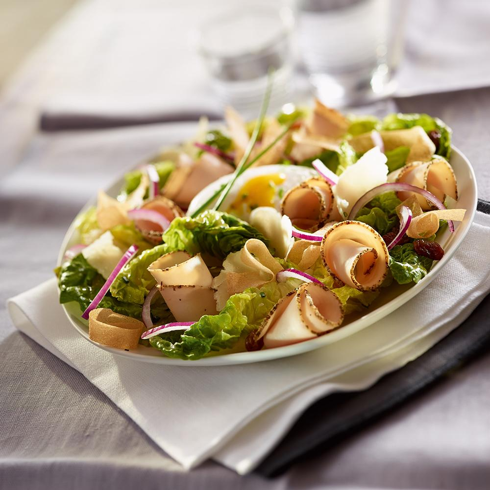 recette salade c sar au filet de poulet cuisine madame. Black Bedroom Furniture Sets. Home Design Ideas