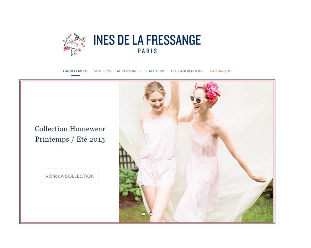 ines de la fressange paris lance sa boutique en ligne madame. Black Bedroom Furniture Sets. Home Design Ideas
