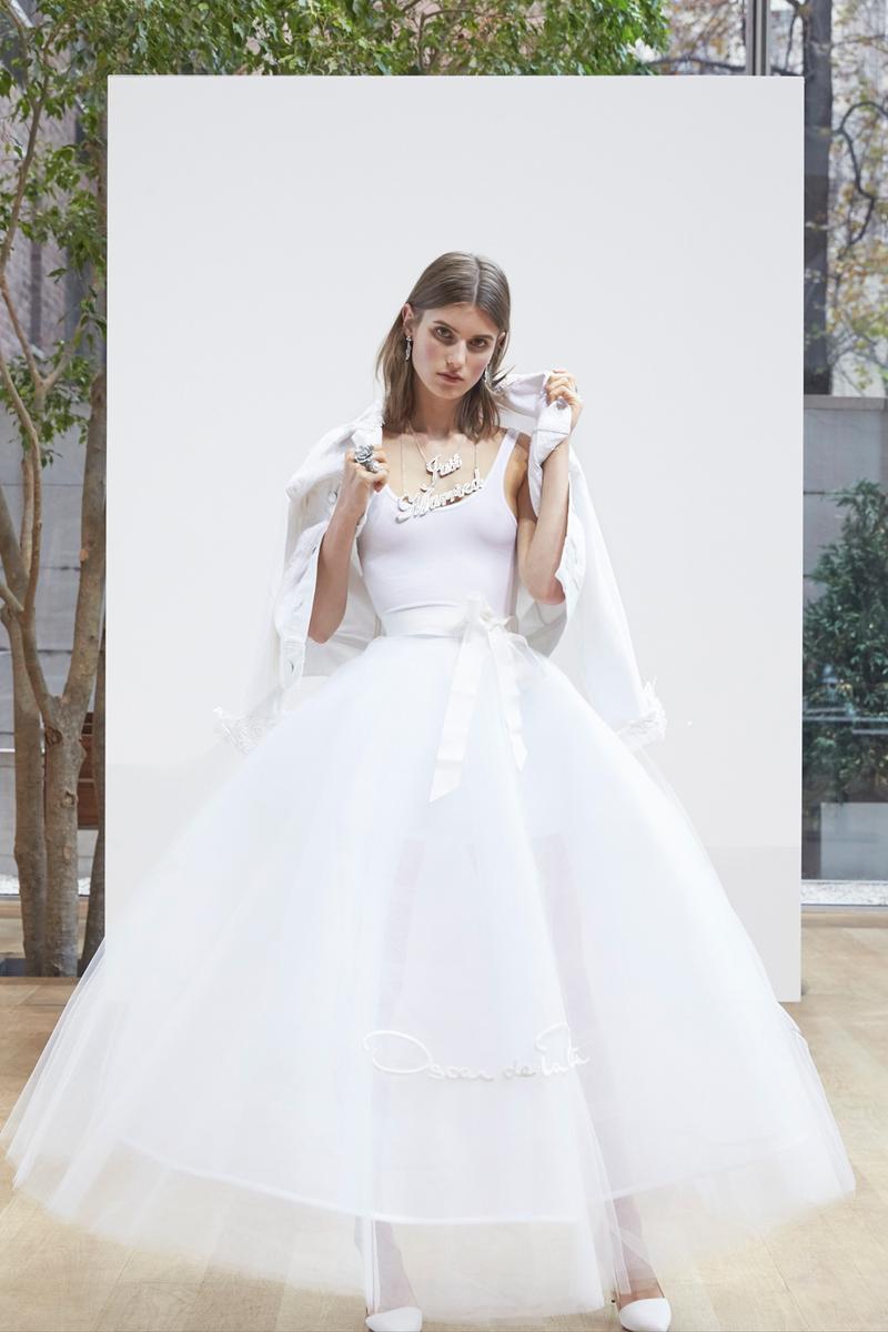 bridal week 2018 les tendances fortes des d fil s robes. Black Bedroom Furniture Sets. Home Design Ideas