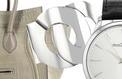 Sélection de sacs, montres et bijoux au format XXL