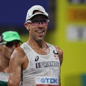 Diniz, victime de la chaleur à Doha : «Je n'allais pas faire 50 km comme ça, ce n'était pas possible»