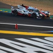 24 Heures du Mans : Toyota mène la danse au crépuscule