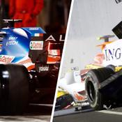 Avec l'emballage de sandwich, les causes d'abandon les plus improbables en F1