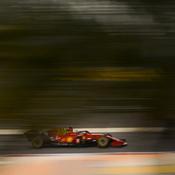 Charles Leclerc avance sans certitudes au volant de sa SF21