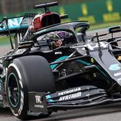 GP Emilie-Romagne : vainqueur, Lewis Hamilton tout proche du 7e ciel