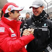 Felipe Massa sait comment va Michael Schumacher