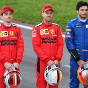 Ferrari : Sainz en pole pour remplacer Vettel