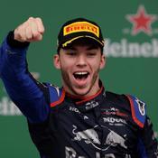 Formule 1 : Gasly, premier Français sur un podium depuis 2015