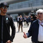 Formule 1: Hamilton se dit «triste et déçu» suite aux propos d'Ecclestone sur le racisme