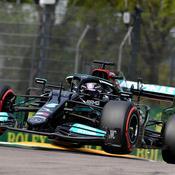 Formule 1 : Lewis Hamilton calme le clan Red Bull à Imola avec une 99e pole position