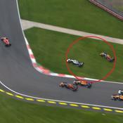 GP Mexique : Ça a chauffé entre Hamilton et Verstappen au départ