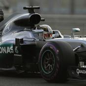 GP Abou Dhabi : Hamilton en pole et… Rosberg bien placé