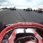 L'incroyable tour de Kimi Raikkönen façon Mario Kart