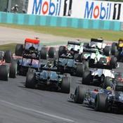 La F1 reste au régime sec